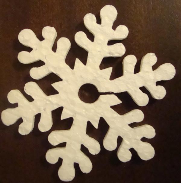 Снежинка 10х10х5см