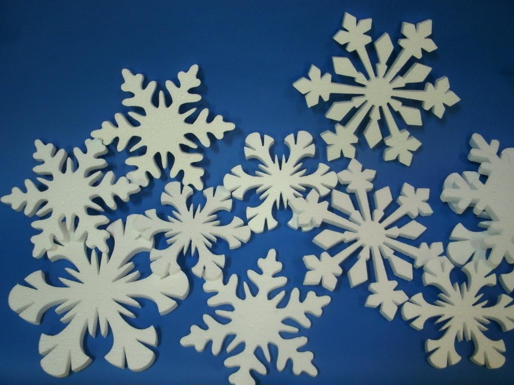 Снежинка 70х70х5см