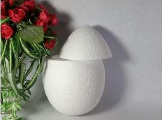 Яйцо из пенопласта полое