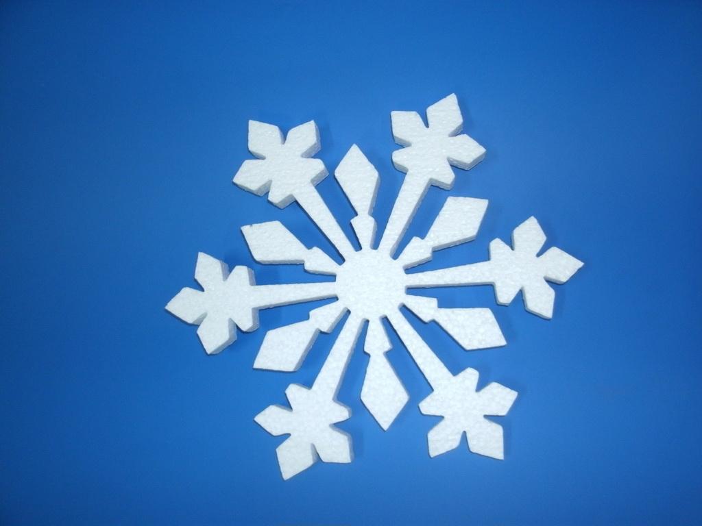 Снежинка 30х30х2см