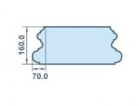 Размеры колонного копителя 70х160