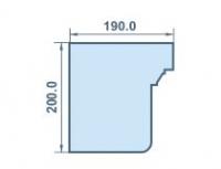 размеры 190х200