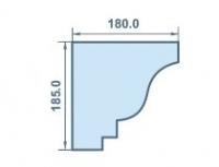 размеры 180 х 185