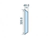Размеры 40х320