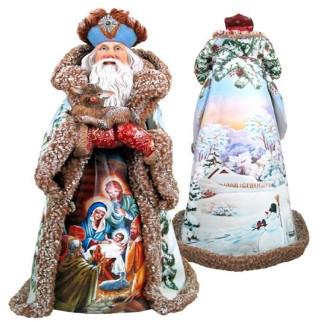 Дед мороз из пенопласта №6