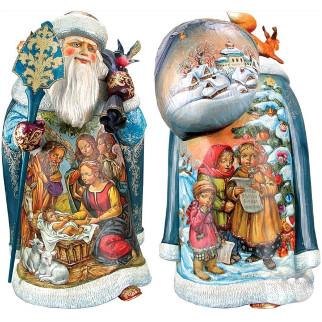 Дед мороз из пенопласта №7