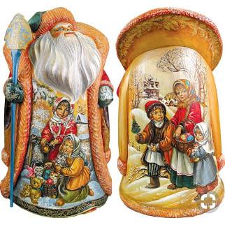 Дед мороз из пенопласта №8