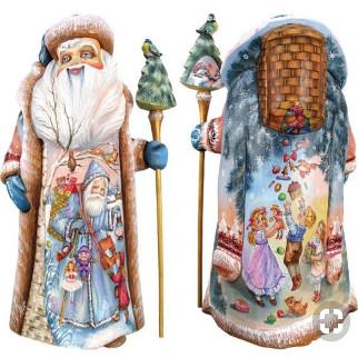 Дед мороз из пенопласта №9