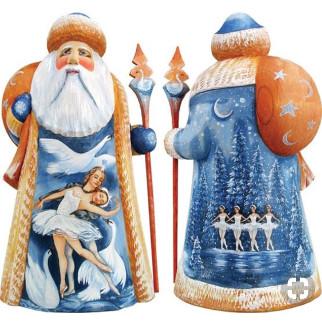 Дед мороз из пенопласта №11