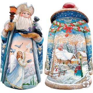Дед мороз из пенопласта №13
