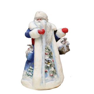 Дед мороз из пенопласта №5