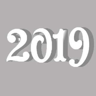 Цифры для нового года №10