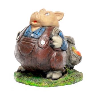 Фигурка Свин с рюкзаком