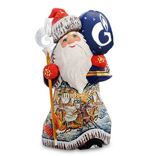 Дед Мороз «Газпром»
