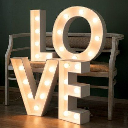 Буквы Love №3