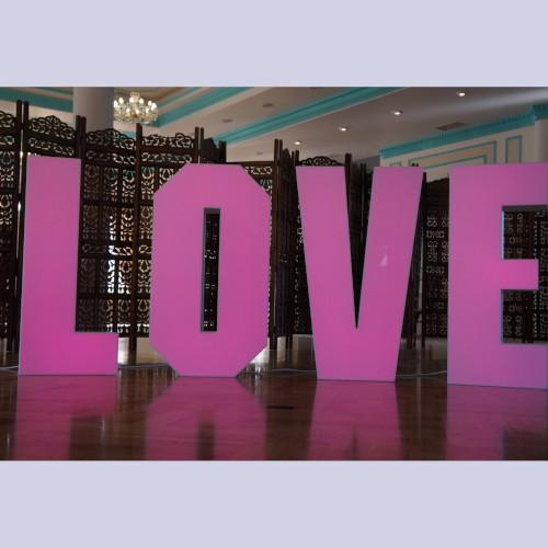 Буквы Love №6