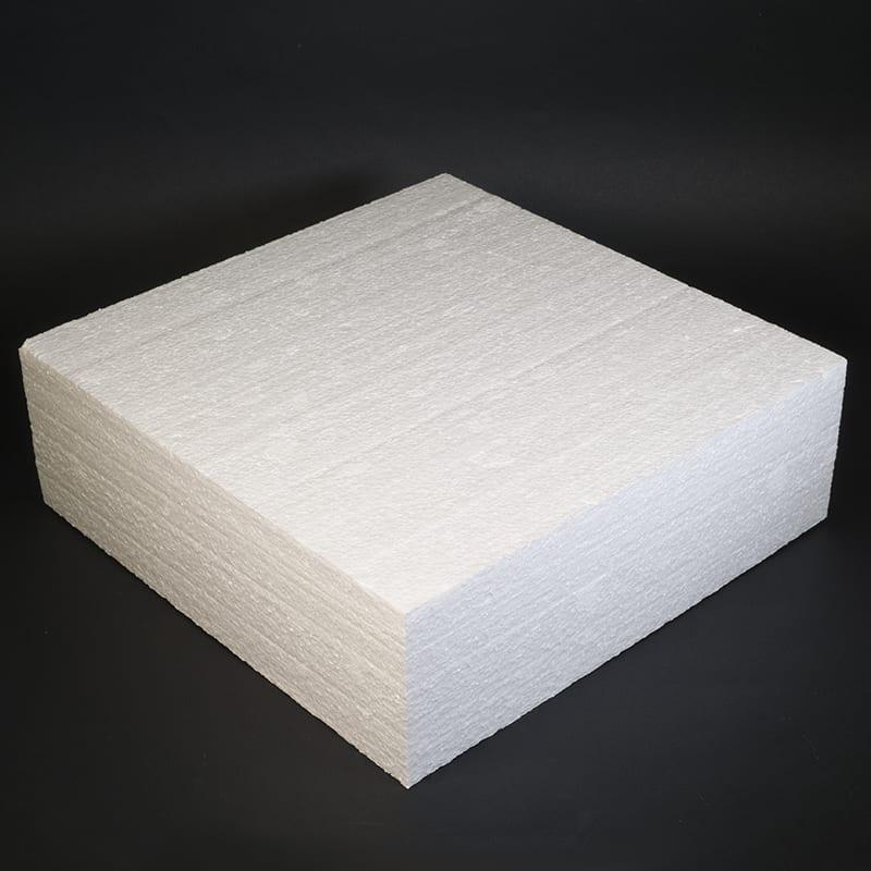 Фальш ярус для торта, Квадрат 30 см, высота 10 см (пенопласт)
